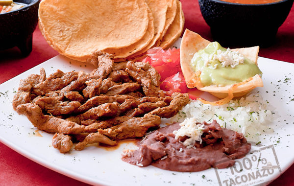 Tacos en Tortilla de Maíz